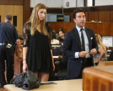 Roosmarijn De Kok Appears In Court After Being Arrested For Shoplifting