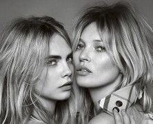 Kate Moss and Cara Delevingne's Burberry Campaign Finally Arrives