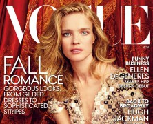 Natalia Vodianova Heads to the Paris Opera Ballet for her November 'Vogue' Cover