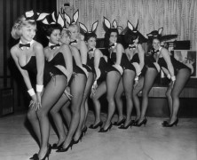 Former 'Playboy' Models Pose in Lingerie