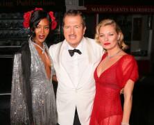 Mario Testino Celebrates 60th Birthday with Kate Moss & Naomi Campbell