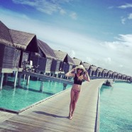 Chrissy Teigen Spends Christmas In Maldives With John Legend