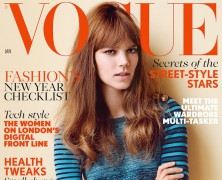 Freja Beha Erichsen Fronts January's Vogue