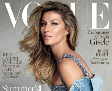 Gisele Covers Vogue Australia January 2015 Issue