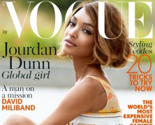 Does Jourdan Dunn's Vogue Cover Solve Fashion's Race Problem?