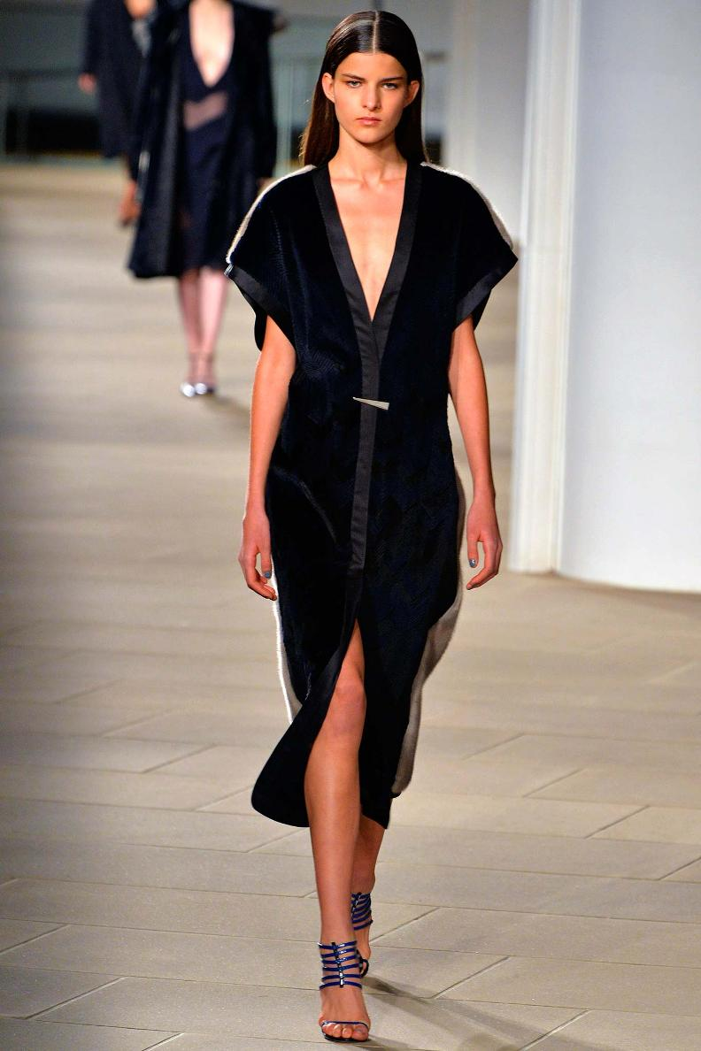 Meet Astrid Holler : The Model Who Opened Alexander Wang's Show