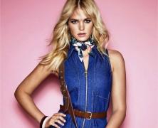 Erin Heatherton Goes Retro For Cosmopolitan Australia
