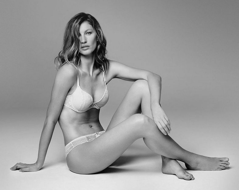 gisele bundchen stuns in sexy new lingerie campaign | news | the fmd