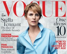 Stella Tennant Is Timeless On Vogue Uk Cover