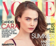 Cara Delevingne Lands First Solo Vogue Cover