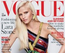 Lara Stone Stuns In August Issue Of British Vogue