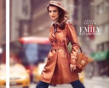 Emily Ratajkowski Is Gorgeous For Harper By Harper�s Bazaar Cover Story