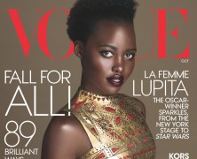 Lupita Nyong'o stuns in second Vogue cover
