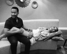 Chrissy Teigen is pregnant
