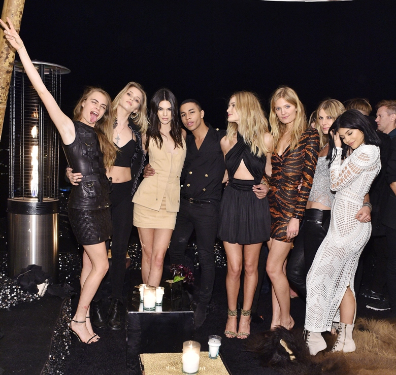 attends Olivier Rousteing & Beats Celebrate In Los Angeles at Private Residence on October 23, 2015 in Los Angeles, California.