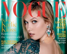 Karlie Kloss Covers December Vogue