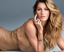 Gisele Bundchen Sizzles in Vivara Jewelry Christmas 2015 Campaign