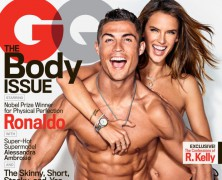 Alessandra Ambrosio and Cristiano Ronaldo Heat Up GQ's Body Issue