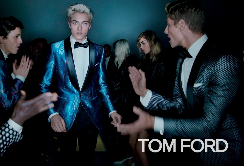 Lucky Blue Smith Tom Ford SS16 Campaign