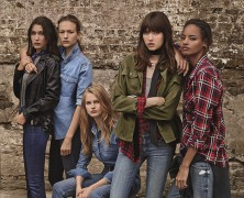 Bella Hadid & Models on the rise front Topshop's SS'16 Denim Campaign