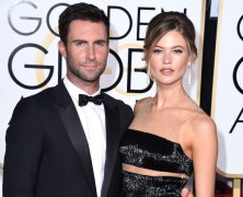 Behati Prinsloo expecting First child with husband Adam Levine