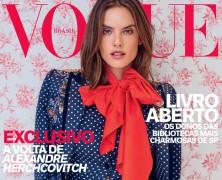 Alessandra Ambrosio Covers Vogue Brazil's April 2016 Issue
