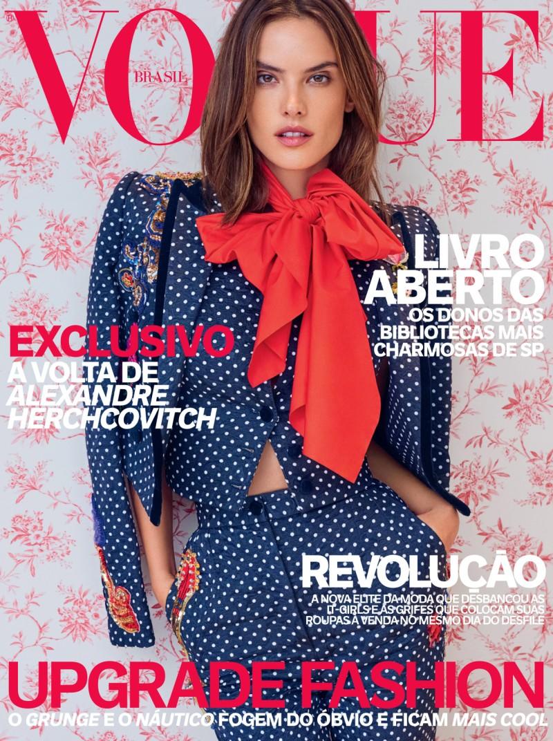 Alessandra Ambrosio  Vogue Brazil April 2016 Issue 03