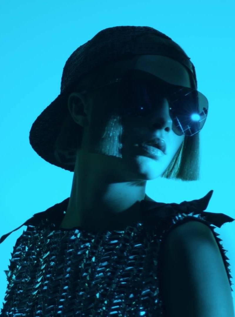Cara Delevingne SS16 Chanel Eyewear