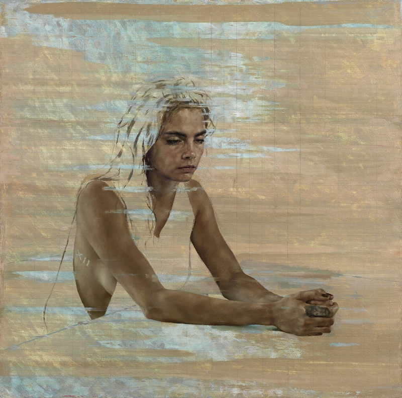 Cara Delevingne von Jonathan Yeo -03