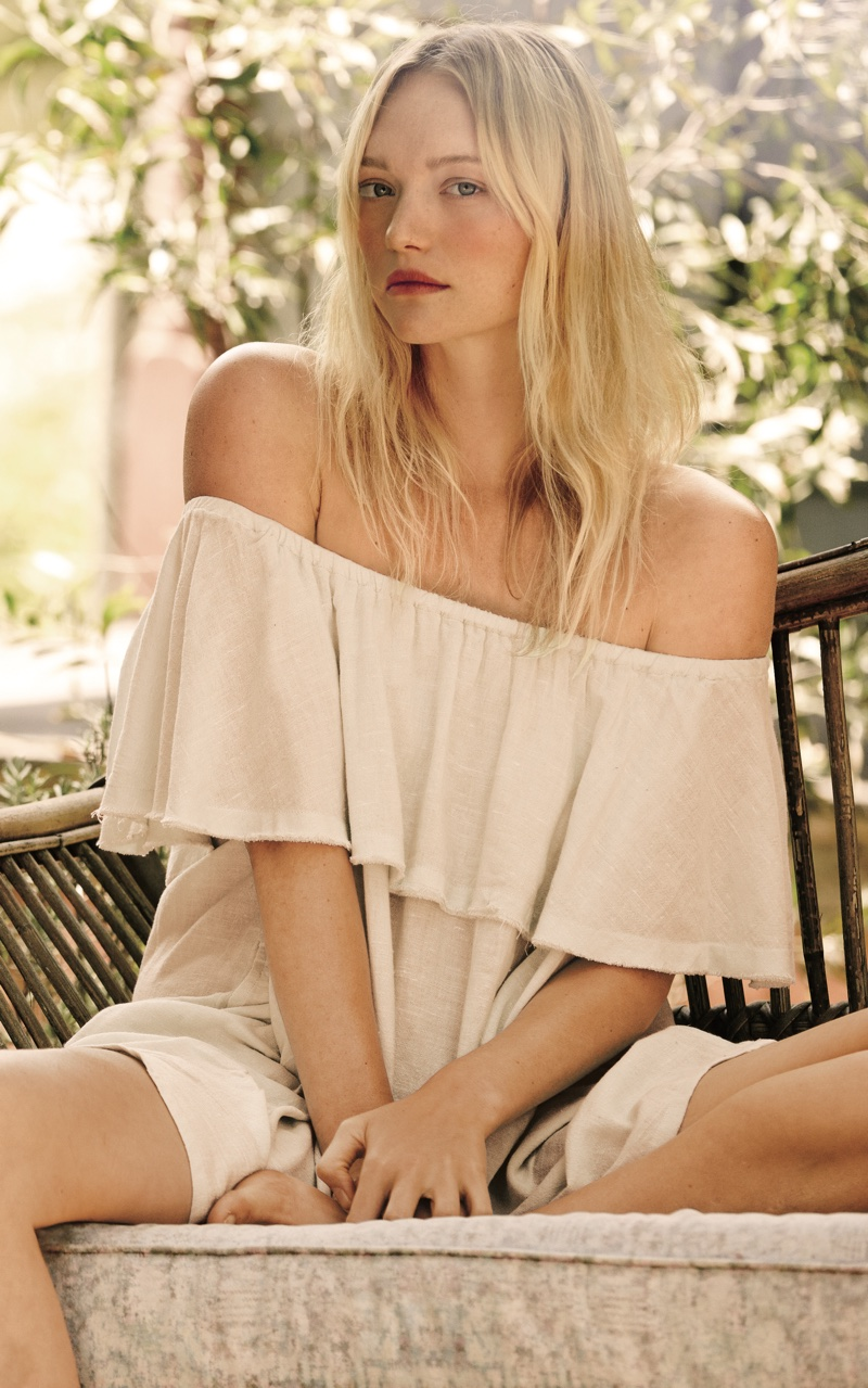 pictures Gemma Ward for Free People's Spring 2019 Lookbook