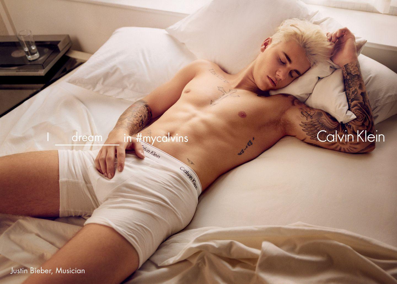 Kendall Jenner Justin Bieber  Calvin Klein Spring 2016 Campaign-03
