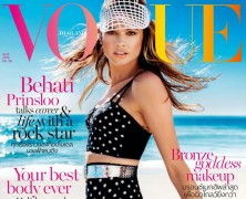 Behati Prinsloo strikes a pose for Vogue Thailand