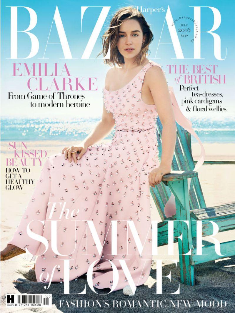 emilia-clarke-july-bazaar-cover