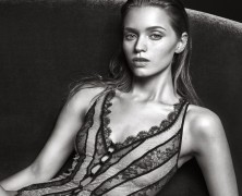 Abbey Lee Kershaw sizzles in Agent Provocateur's fall campaign