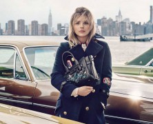 Chloe Grace Moretz is the face of Coach's Spring 2016 Campaign