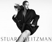 Gigi Hadid is the face of Stuart Weitzman's new campaign