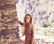 Erin Wasson fronts Free People's August catalog