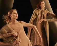 Karen Elson fronts Valentino's fall/winter 2016 campaign