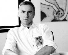 Raf Simons named Chief Creative Officer at Calvin Klein