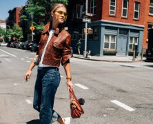 Nina Agdal shines in Michael Kors' Accessories Campaign
