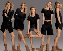 Rosie Huntington-Whiteley fronts Ugg's latest campaign