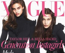 Bella Hadid and Taylor Hill sizzle on Vogue Paris September issue
