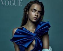 Cara Delevingne Lands Her Fifth British 'Vogue' Cover