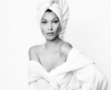 Bella Hadid Poses For Mario Testino's 'Towel Series'