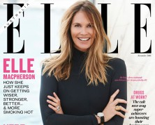 Elle Macpherson is Elle Australia's November cover star