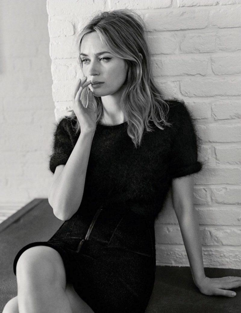 Emily Blunt Vogue Uk November 2016