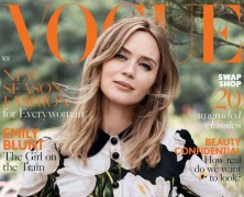 Emily Blunt is British Vogue's November Cover Girl