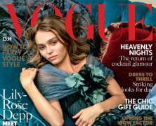 Lily-Rose Depp Covers Vogue UK December 2016 Issue