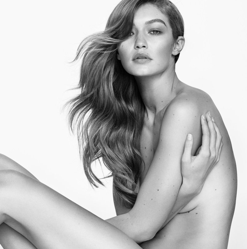 gigi hadid fronts a stuart weitzman campaign for the third time