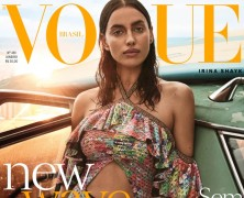Irina Shayk Lands Two Vogue Brazil Covers